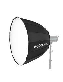 Softbox Godox P120L Deep parabolica con doble difusor blanco