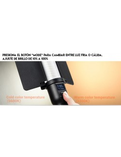 Godox LC500 Light Stick con temperatura 3300 o 5600K