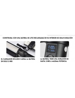 Godox LC500 Light Stick con bateria de litio incluida