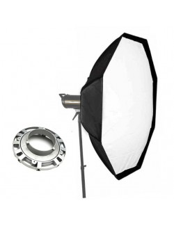 Softbox 120 cm octogonal Bowens y anillo compatible Bowens