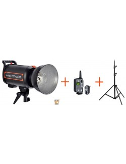 Kit Godox QT600 + FT16 y pie de estudio FT260