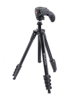 Trípode Manfrotto Compact Action negro