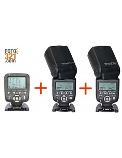 Kit trigger YN 560TX Canon + 2x flashes YN 560 III