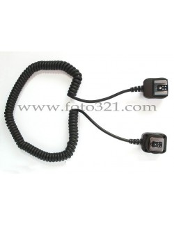 Cable TTL Canon 1,8 metros